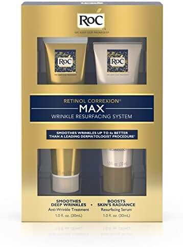 Roc Retinol Correxion Max Wrinkle Resurfacing Anti-Aging Skin Care System