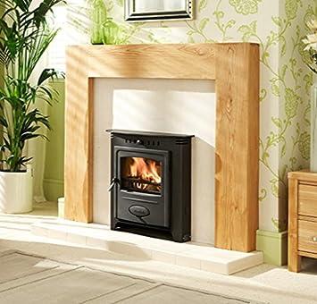 Hamlet solución inserción 7 estufa (madera y Multi combustible): Amazon.es: Hogar