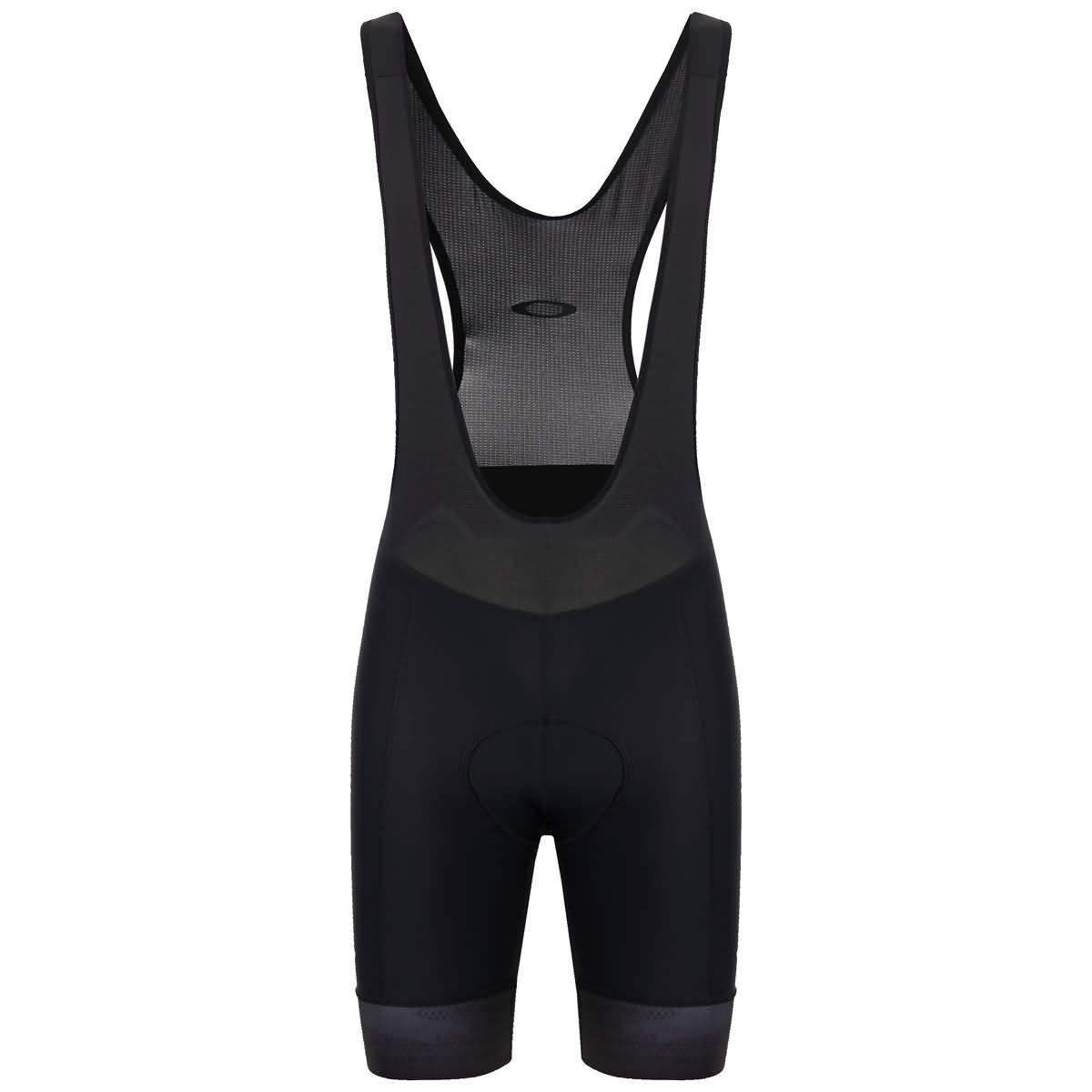 Oakley Men's Jawbreaker Bib Shorts,Large,Blackout