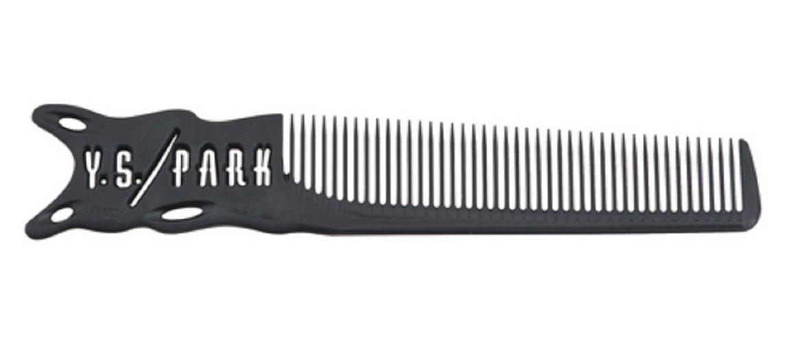YS Park 209 Barber Comb - Carbon by Y.S.Park