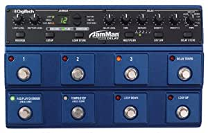 digitech jmd jamman delay looper pedal musical instruments. Black Bedroom Furniture Sets. Home Design Ideas