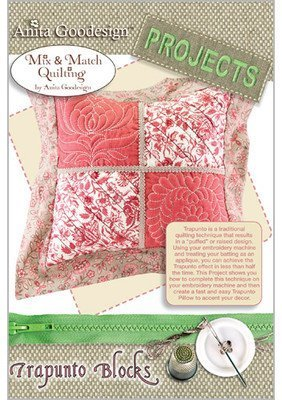Anita Goodesign Embroidery Machine Designs CD TRAPUNTO - Block Design Embroidery