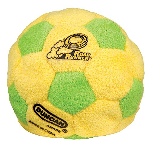 Outdoor Toy World Footbag Dirtbag Hacky Sack Footbag Yellow//Black//Green//Red Soft
