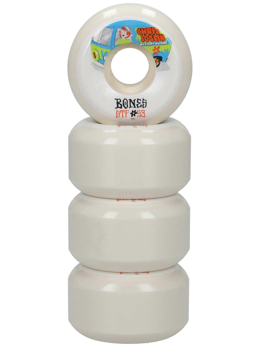 Bones Wheels Skateboard Wheels STF Joslin Shaggy 83B V5 53mm Rollen