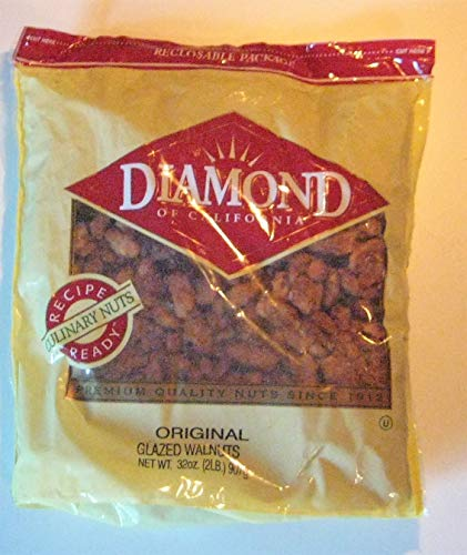 (Diamond Original Glazed Walnuts - 32 oz (2)