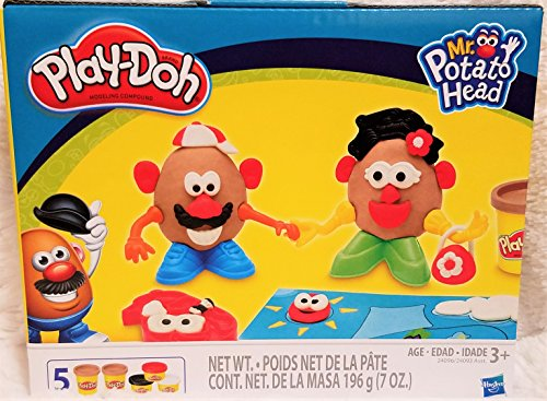 Play-Doh Mr. & Mrs. Potato Head 14 Piece - Play Doh Mr Potato Head