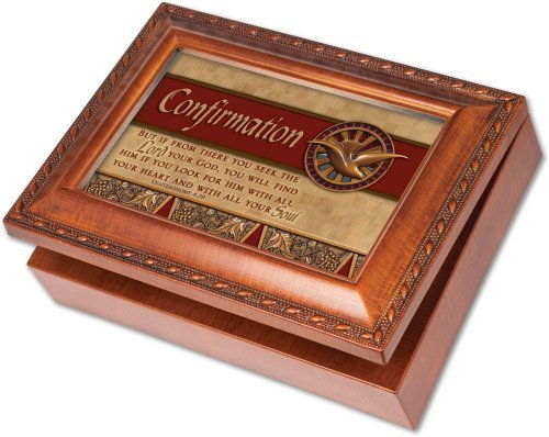 【予約】 Cottage Garden Confirmation Woodgrain Music Confirmation Box Great/ Woodgrain Jewelry Box Plays How Great Thou Art by Cottage Garden [並行輸入品] B01LW1T47X, 花友禅:73d3e18a --- arcego.dominiotemporario.com