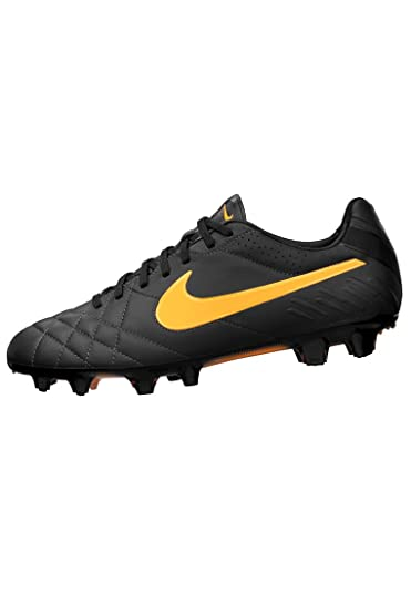 the latest 534a8 b79fb Nike Tiempo Legend IV - Dark Charcoal/Laser Oran: Amazon.ca ...