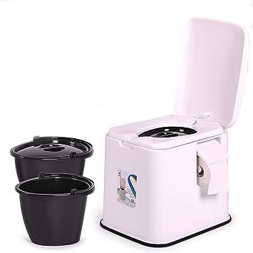 Thole Inodoro Portátil Químico Baño WC Mudo Tapa para Camping ...