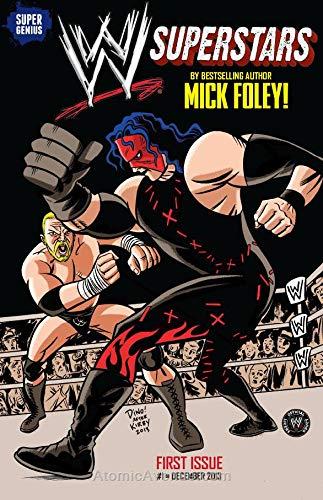 WWE Superstars (Vol. 1) #1B FN ; Super Genius comic book (Wwe Superstars 1 Money In The Bank)