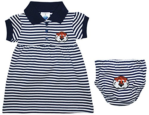 University of Auburn Aubie The Tiger Striped Game Day Dress with Bloomer