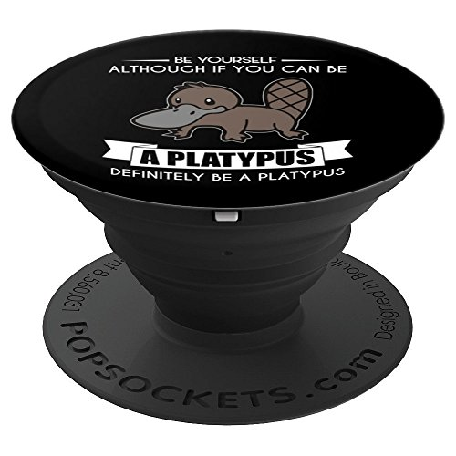 Platypus - Animal Lovers - Pet Owners - Farm - Zoo - PopSockets Grip and Stand for Phones and Tablets