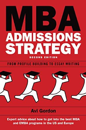 Mba admissions essay business week