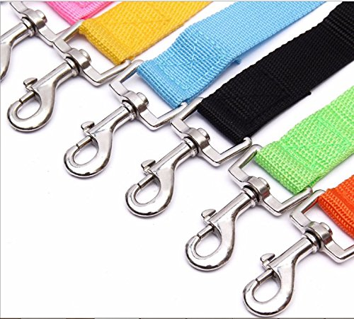 6 Packs Pet Dog Cat Car Safety Seat Belt, Magnolora Heavy Duty Vehicle Car Safety Leash Leads Harness, Adjustable Seatbelt Leash Tether Strap with Strong Metal Clips for Pets Dogs Cats