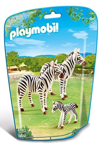 PLAYMOBIL (Playmobil) Zebra Family Building Kit (parallel import goods)