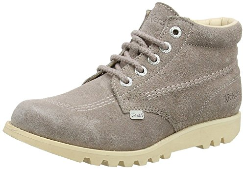 Kickers Kick Hi Light Brown Suede Womens Ankle Boots -36 - Kickers Womens Kick