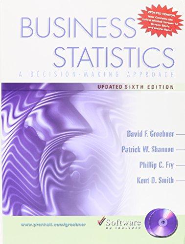 Busn Stats&CD&1key Bb Pk (6th Edition)