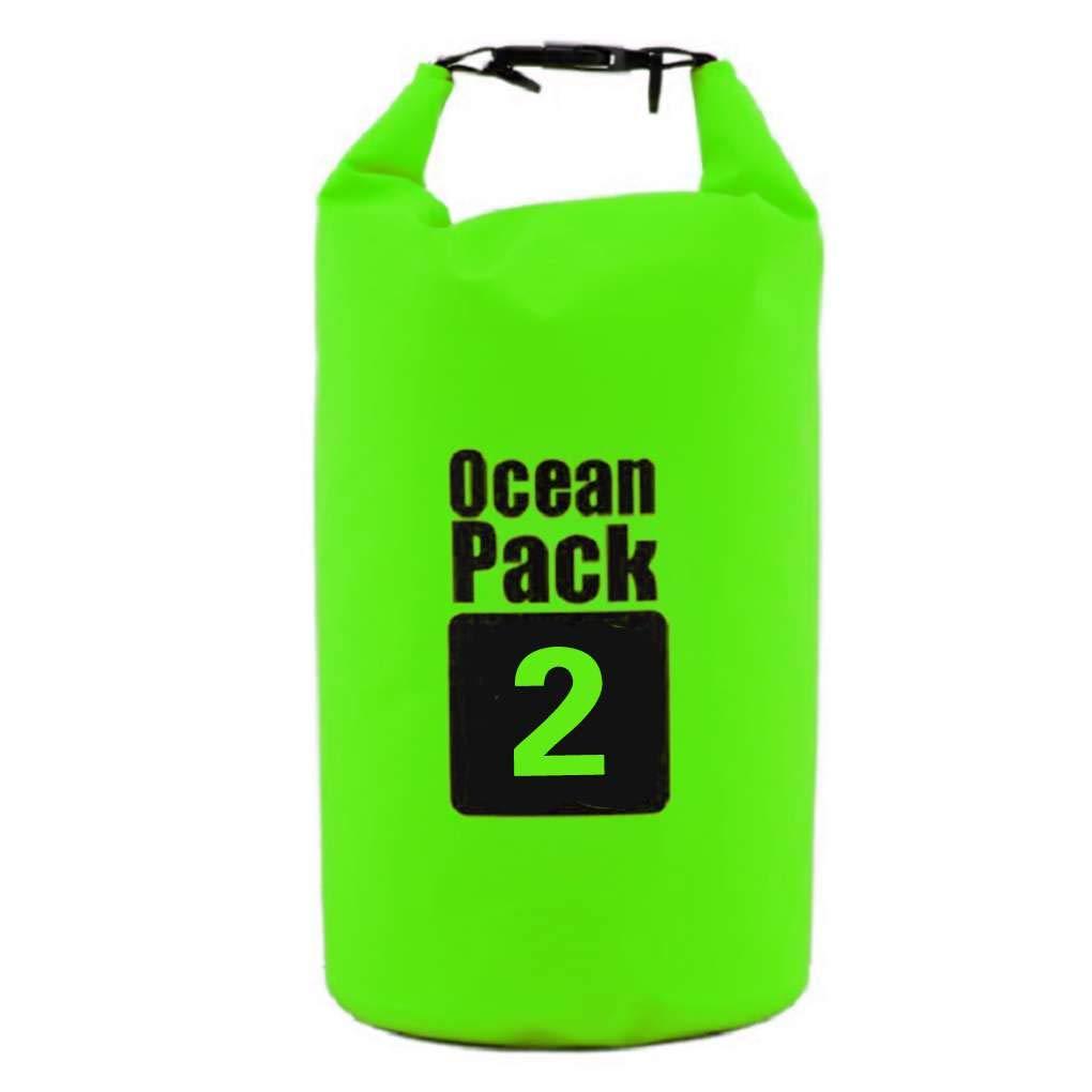 Luckiests Impermeable al Aire seco Bolsa de Almacenamiento de Ropa del Bolso del Equipaje de Camping Rafting natació n