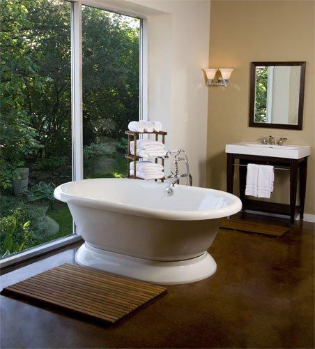 Teak Shower/Bath Mat (36'' x 30'') by Teakworks4u (Image #4)