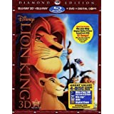 The Lion King 3D: Diamond Edition (Special Edition Blu-ray 3D + Blu-ray + DVD + Digital Copy with Bonus Original Motion Picture Soundtrack)