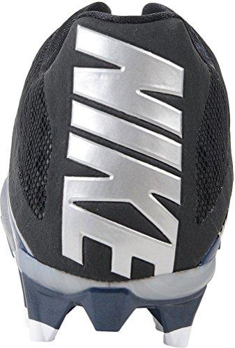 Nike Herren Vapor Speed Low TD geformte Fußballschuh Navy / Metallic Silber / Schwarz / Weiß