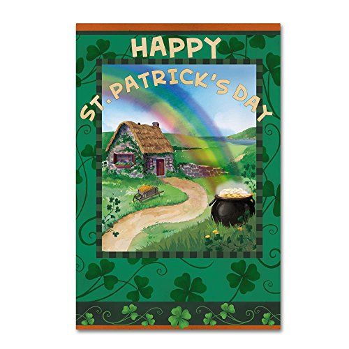 St. Patrick's Day by Fiona Stokes-Gilbert,  Canvas Wall Art