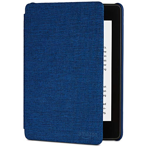 All-new Kindle Paperwhite Water-Safe Fabric Cover (10th Generation-2018), Marine Blue (1 Paperwhite)