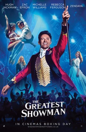 Image result for the greatest showman poster