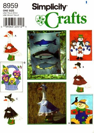 Simplicity Flags and Lawn Geese Clothing Pattern 8959