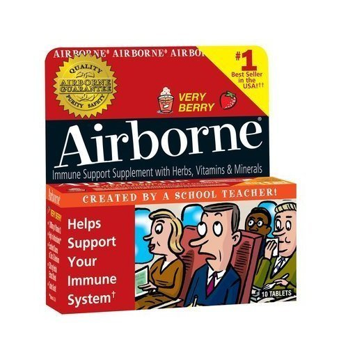 Airborne Effervescent Formula Tablets Very Berry 10 product image