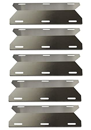 hongso spa231 (5-Pack) SS barbacoa parrilla de Gas placa de calor,