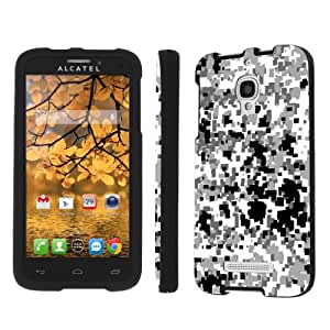 NakedShield Alcatel One Touch Fierce 7042W Urban Camouflage Total Armor Art Phone Case