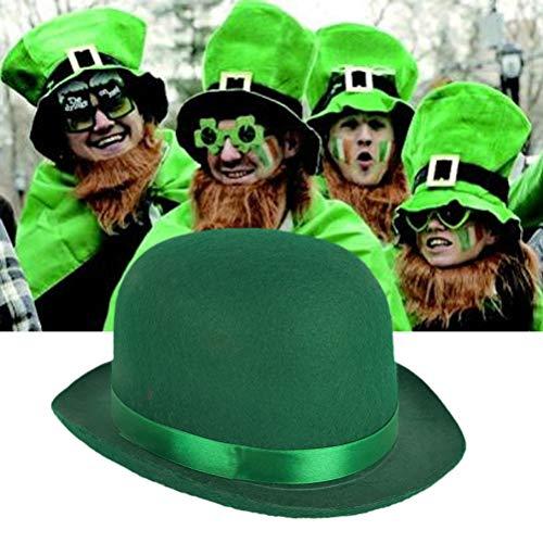 BESTOYARD Sombrero del día de San Patricio Sombrero del Festival irlandés  Sombrero Simple y Divertido Cap para el Festival de Carnaval (Verde)   Amazon.es  ... 479928153e0