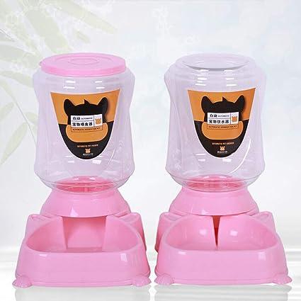 PLL Dispensador de Agua para Mascotas Alimentador automático de Agua para Mascotas Comedero para Perros Dispensador