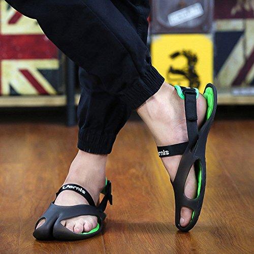 England Schwarz M盲nner Flops Anti Strand Freizeit 6 Sandalen Breathable Mode Rutsch UK EU Pers枚nlichkeit 40 Sommer Trend Flip Schuhe 5 YRqp6