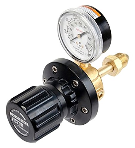 - Victor 0781-5202 ELC4-325-580R High Capacity Liquid Cylinder Inert Gas Regulator, 5-325 Psig Delivery Range, CGA 580 Inlet Connection, Rear Entry Inlet