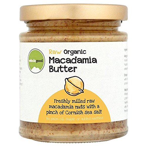 Wholegood Organic Raw Macadamia Nut Butter 170g
