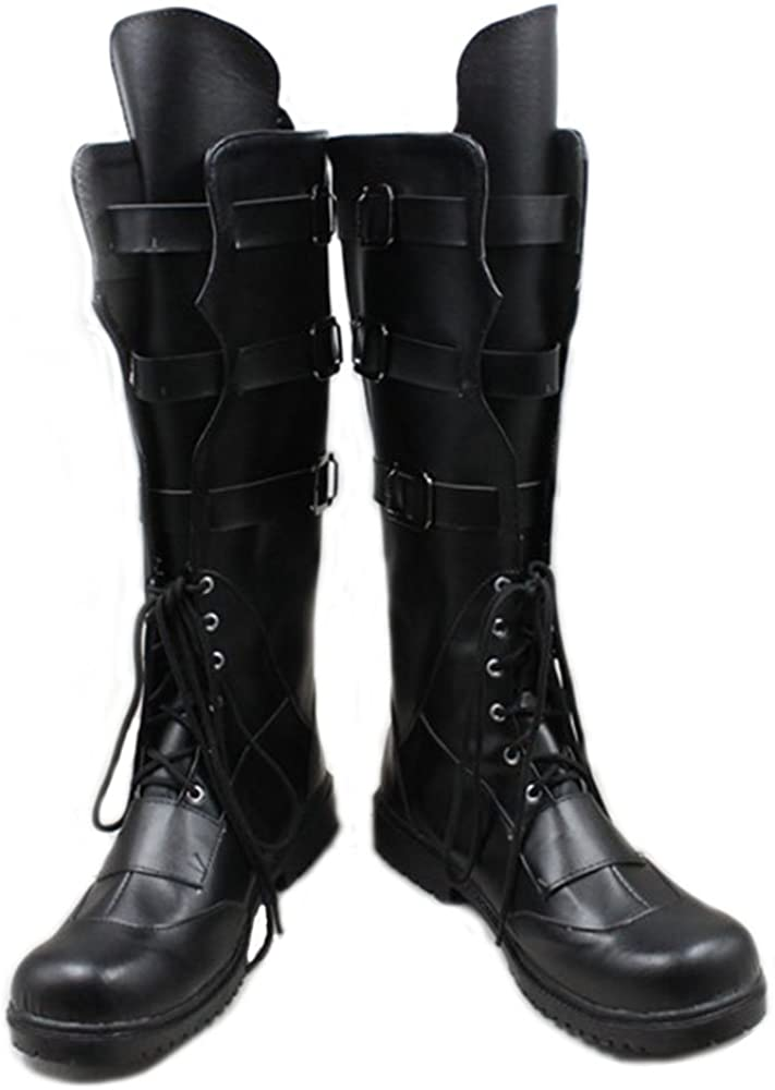 Hot Movie Character Hawkeye Boots Black