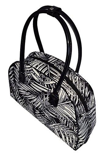Tropical Bag Beach Purse Black Weekender Leaf Palm Personalized PdzqP