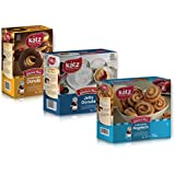 Katz Gluten Free Donuts & Rugelach Variety Pack | 1 Jelly Donut, 1 Chocolate Frosted Donut, 1 Cinnamon Rugelach | Dairy, Nut, Soy and Gluten Free | Kosher (1 Pack of each)