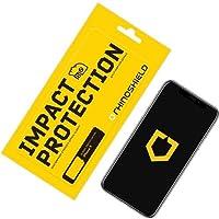 RhinoShield Protection Écran pour iPhone X/XS Anti-Chocs   Film Protecteur Haute qualité avec Technologie de Dispersion des Chocs - Transparence 99% et résistance aux Rayures et aux Traces de Doigts