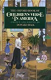 The Oxford Book of Children's Verse in America, , 0195035399