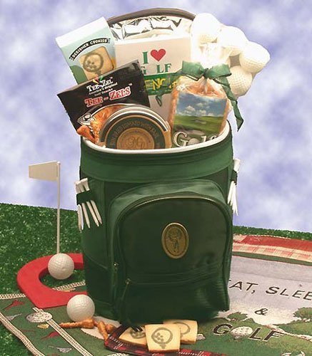 Sports Gift Basket Golfing Around Golf Sports Bag Golfing Around Sports Bag