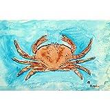 Betsy Drake PM355 Red Crab Place Mat, Set of 4