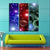 LIUXIAOYAN Starry Night Sky Diamond Painting Square Blue Night Sky Galaxy Landscape Paintings WALL Arts Craft Adults' Children's Kits Cross for Home Wall Decoration !
