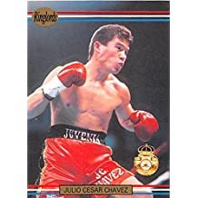 Julio Cesar Chavez trading card (Mexico Boxing Champion Boxer) 1991 Ringlords #31