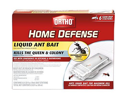 Ortho 0464812 Home Defense Liquid Ant Bait, 6 Pk