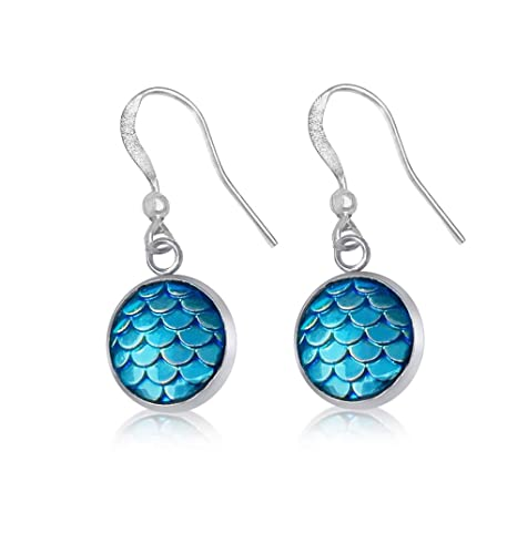 Amazon com: Be a Mermaid and Make Waves - Ocean Lovers Earrings with