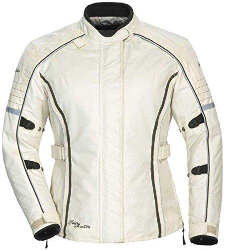 Tourmaster Womens Trinity Series 3 Cream Textile Jacket - Large