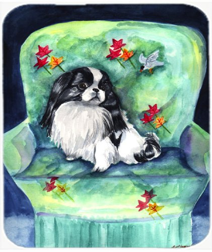 Caroline's Treasures Mouse/Hot Pad/Trivet, Japanese Chin in Momma's Chair (7034MP)